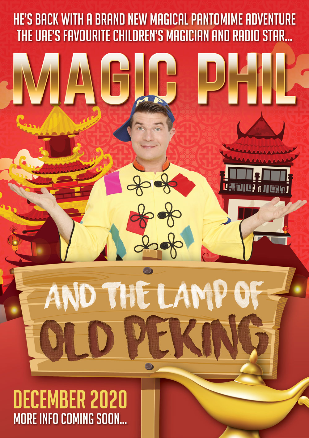Magic Phil and the Lamp of Old Peking
